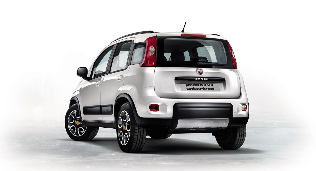 Fiat Panda 4×4 série limitée Antartica, au sommet !