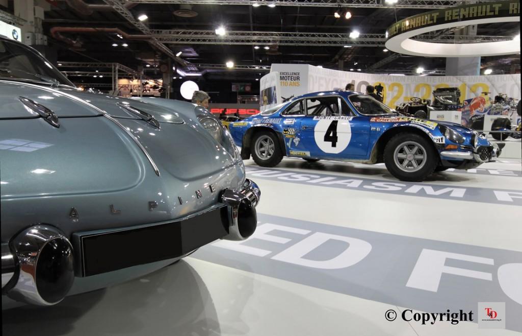 Alpine Rétromobile 2014 t&d