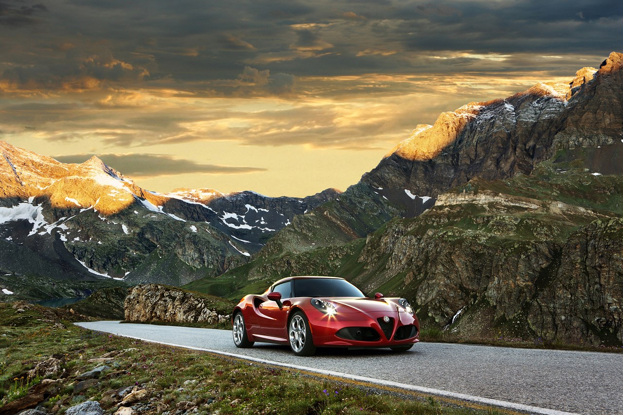 Alfa Romeo 4C : Élue «plus belle voiture de l'année 2013»