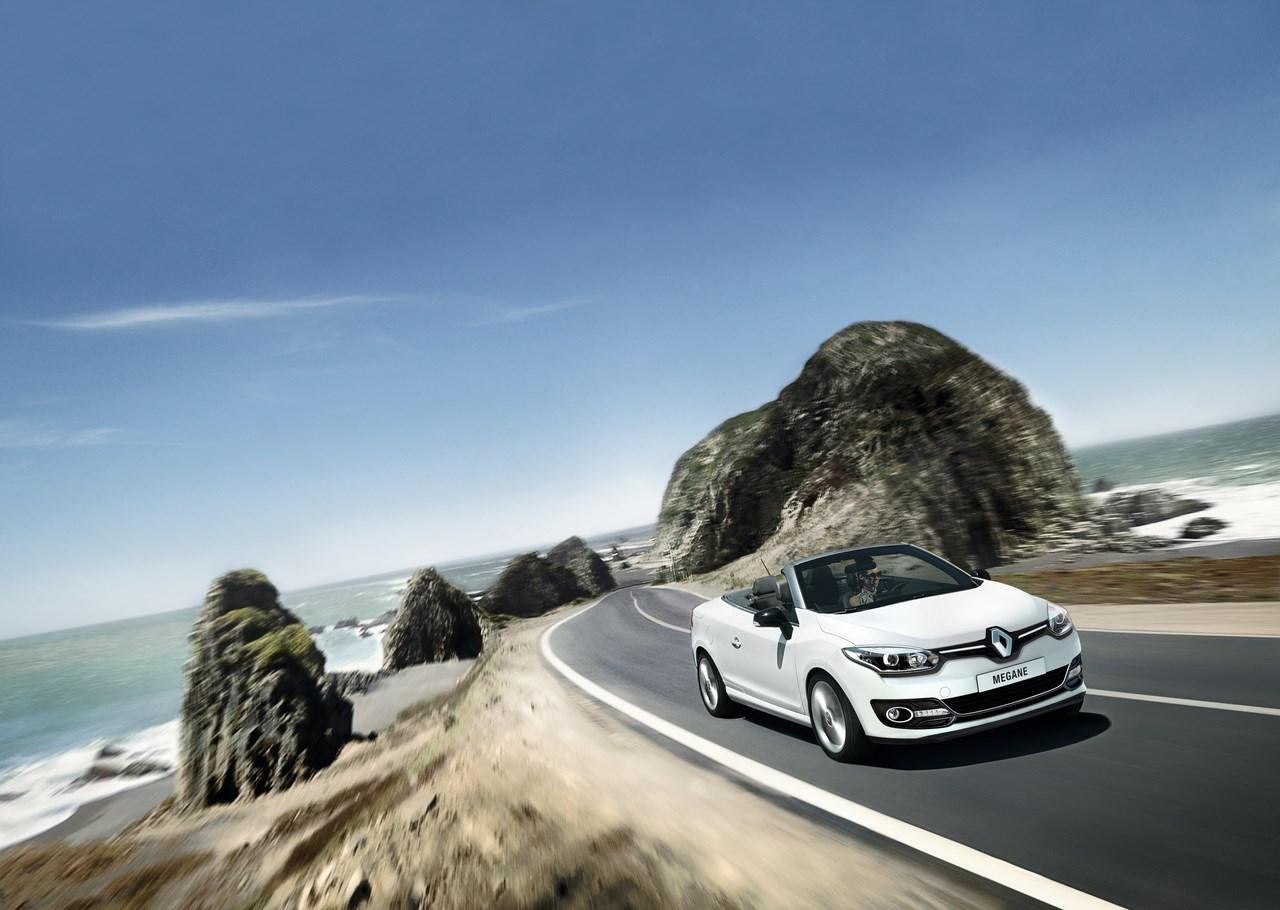 Nouvelle Renault Mégane-cabriolet: Gamme et tarifs