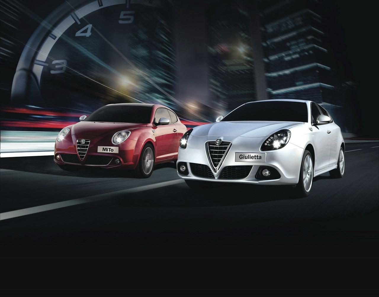 Nouvelles séries spéciales Alfa Roméo MiTo et Giulietta Trofeo : Retour aux sources.