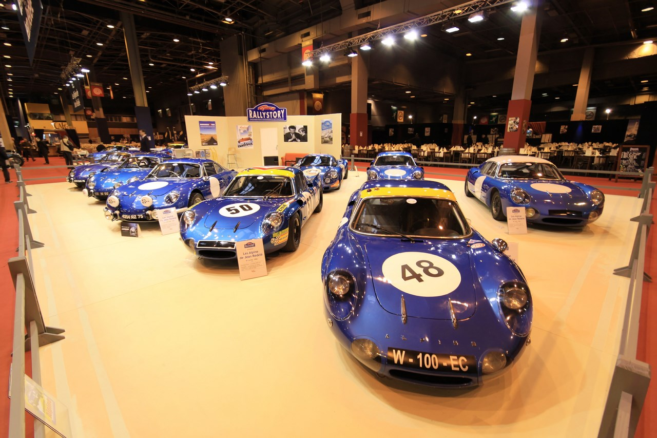 Rétromobile 2014: Alpine et Jean Rédélé, les vedettes du salon.