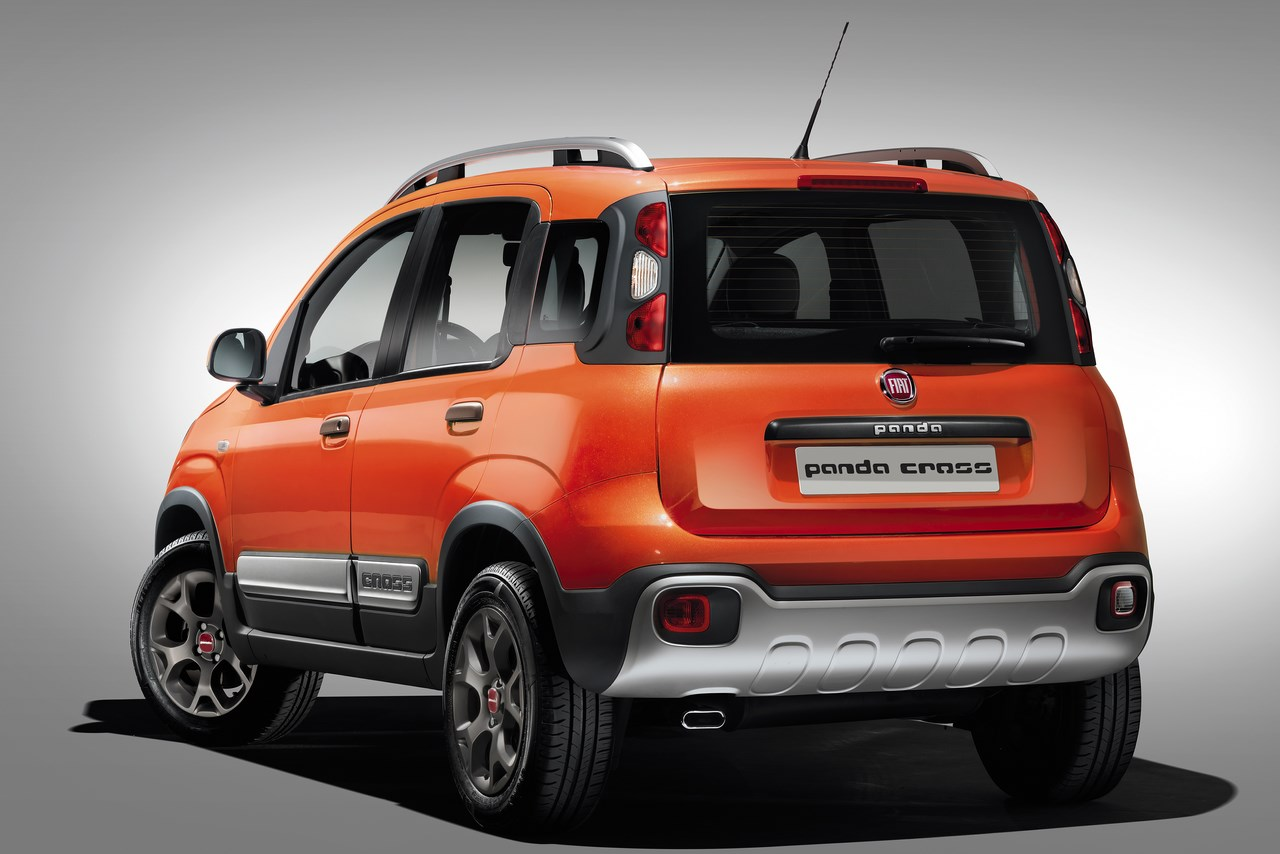 Fiat Panda Cross 2014 : La Panda 4×4 devient adulte.