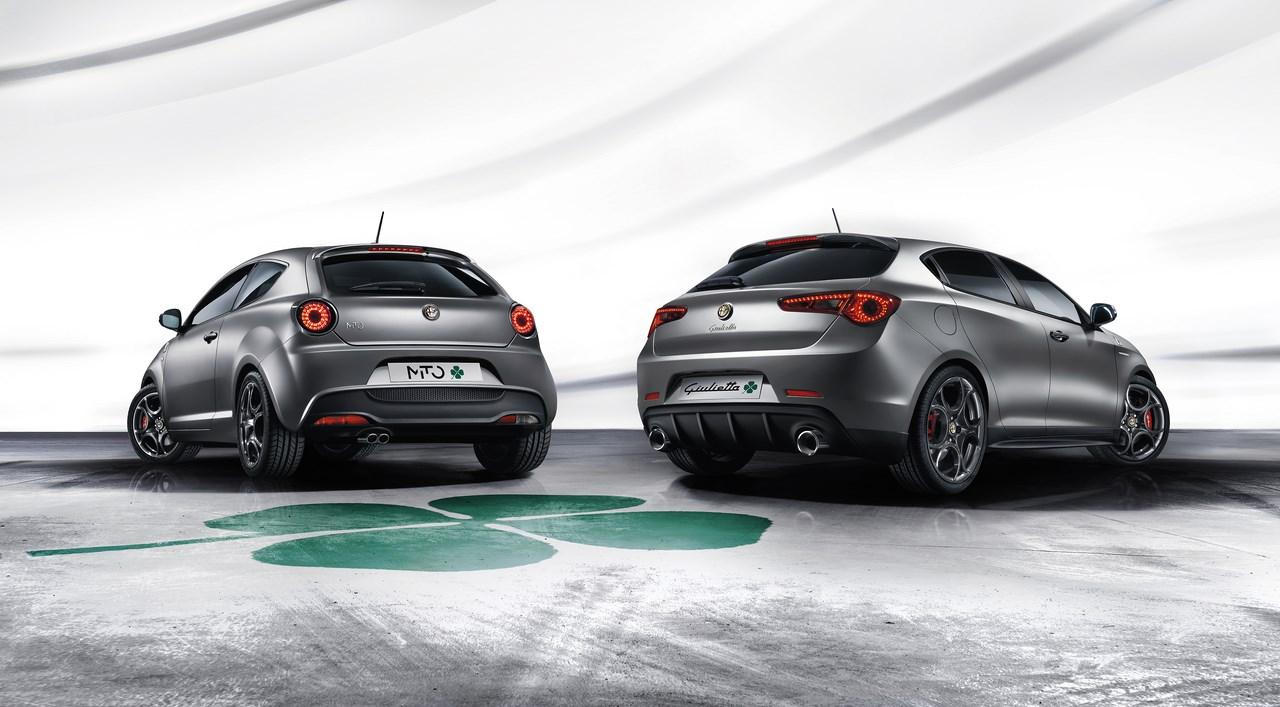 Alfa Romeo MiTo et Giulietta Quadrifoglio Verde : Héritières du passé.