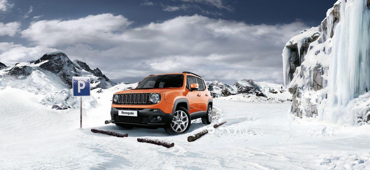 Jeep Renegade série limitée «Winter Edition» : Le Yéti de Jeep.