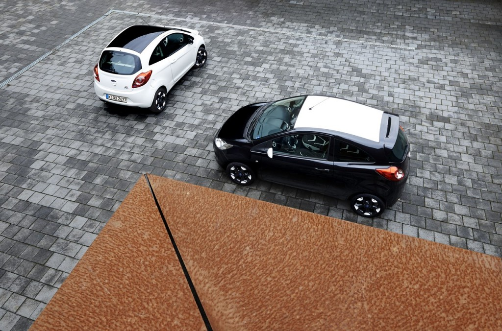 Ford Launches Black and White Editions for Fiesta and Ka, Inspir