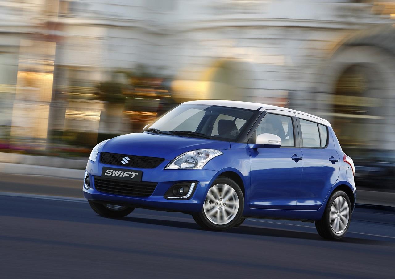 Suzuki dévoile les tarifs de la nouvelle Swift Model Year 2015.