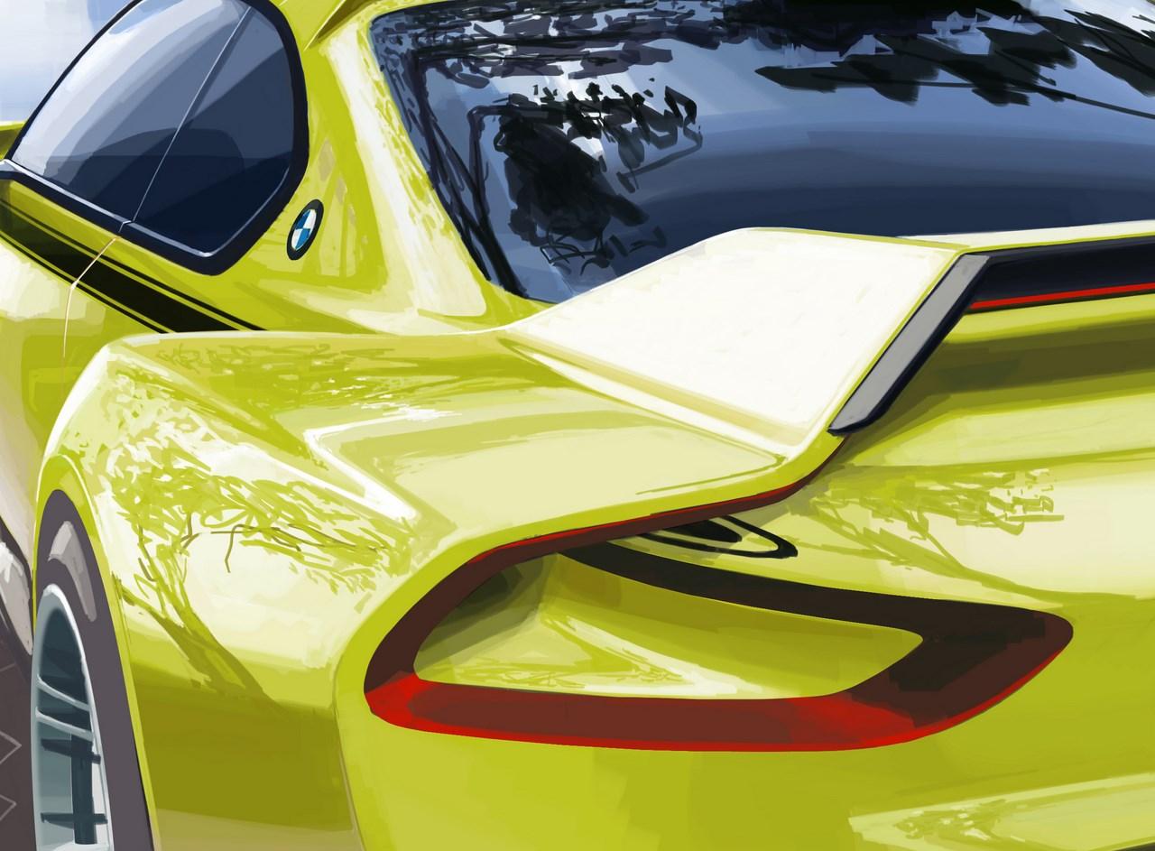 BMW 3.0 CSL Hommage 2015 (le teaser) :BMW réunit l'élégance et le sport à traversune icône de l'automobile.
