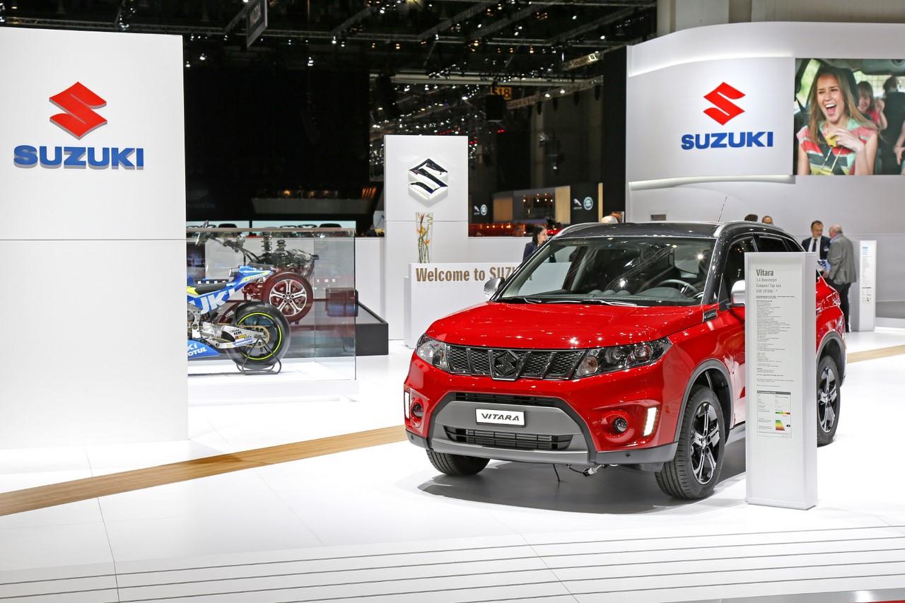 Suzuki Vitara S : Le SUV japonais voit rouge.
