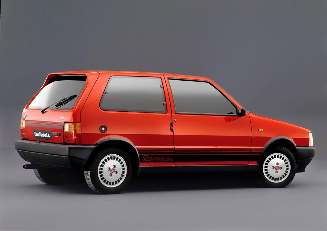 Fiat Uno Turbo I.E série 1 (1985-1989) : La Uno du diable.