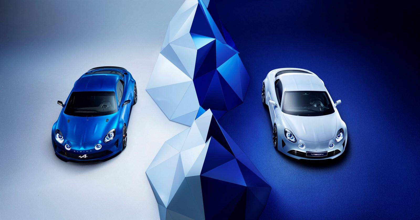 Nouvelle Alpine : Un châssis en aluminium pour les voitures de route.