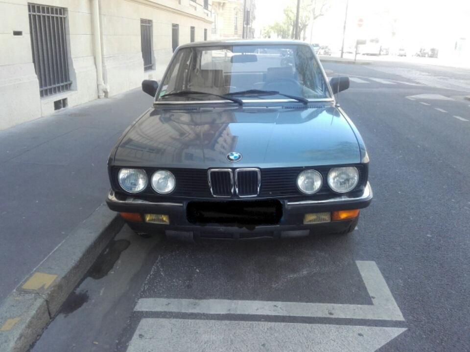 BMW 524 TD.