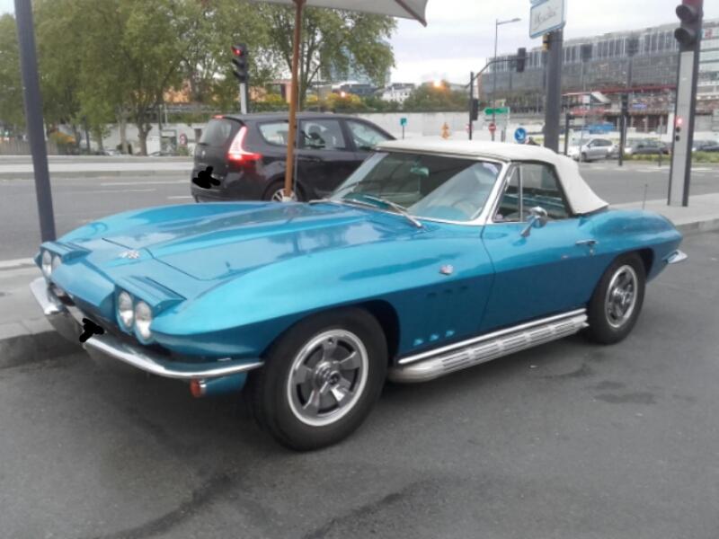 Chevrolet corvette C2 (1963-1967).