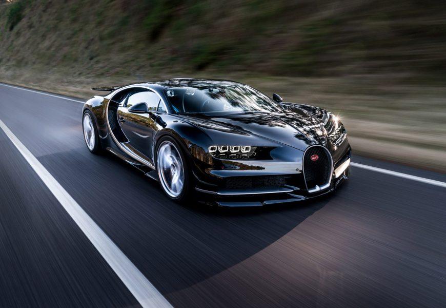 Bugatti Chiron : De 0-400-0 km/h en 42 S.
