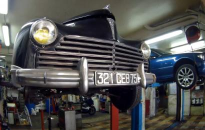 Garage de l'Égalité à Issy les Moulineaux : De père en fils.