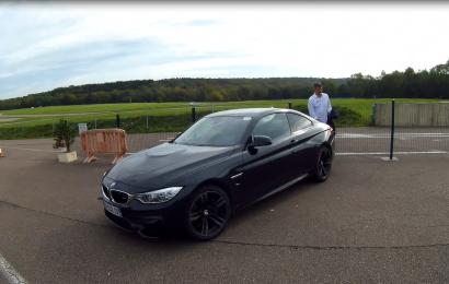 BMW M4 au circuit des Ecuyers à Beuvardes : Une M comme J'aime!