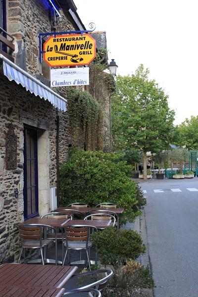 Le restaurant la Manivelle.