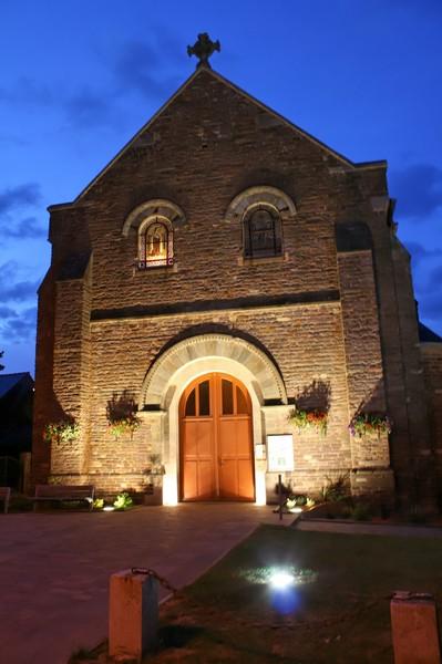 L'église de Lohéac.