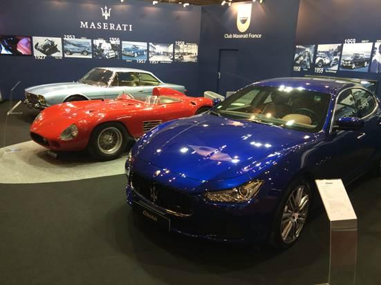 Maserati à rétromobile 2016